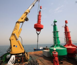 Nautilus-2200 buoys deployed by Middle East Dredging Company, Qatar